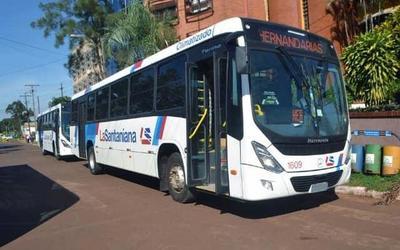 Municipalidad de Hernandarias sancionó a La Santaniana por abandonar itinerario