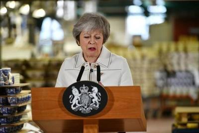 May se enfrenta a una derrota parlamentaria en la votación sobre el Brexit