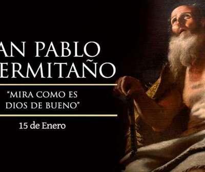 Hoy se celebra el día de San Pablo, el ermitaño