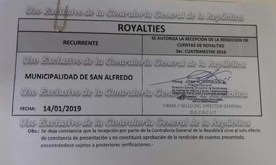 Municipio de San Alfredo rinde cuentas