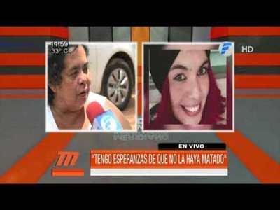 """Madre de Romina: """"Tengo la esperanza de que mi hija esté con vida"""""""