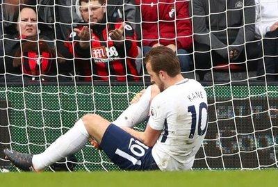 Lesión de Kane, aleja al Tottenham de la pelea por el título