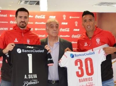 Lucas Barrios y Antony Silva tienen un nuevo desafío