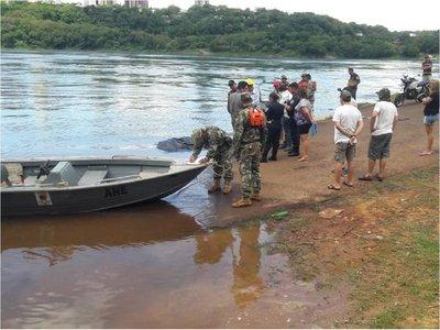 Hallan cuerpo de hombre que había desaparecido en el río Paraná
