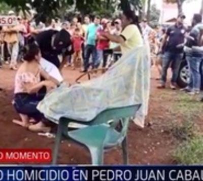 Hombre fallece a manos de sicarios en Pedro Juan Caballero