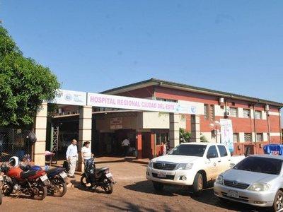 Rescatan a  niños con desnutrición y los trasladan al hospital   de CDE