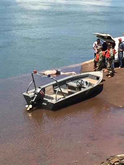 Hallan cadáver de herrero que se ahogó en aguas del río Paraná