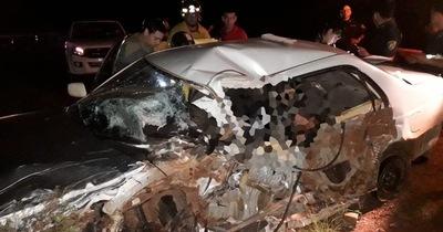 Accidente de tránsito deja dos muertos en Los Cedrales