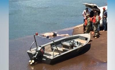 Rescatan cuerpo del ahogado en el Paraná