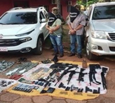 Detienen a delincuentes que realizaban secuestros exprés en Amambay