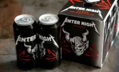 HOY / Metallica lanza su propia marca de cerveza