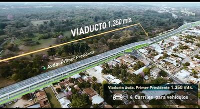 Viaductos en zona del Jardín Botánico optimizarán el tránsito de 40.000 vehículos
