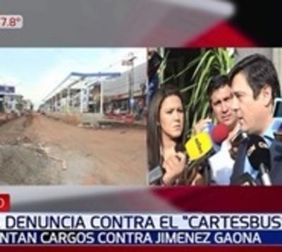 Presentan denuncia contra Jiménez Gaona por el fracaso del metrobús