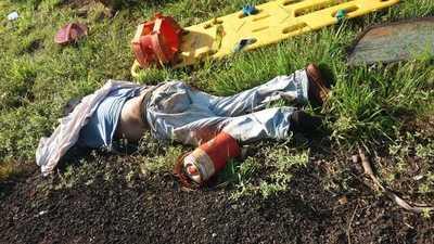 Yguazú: Accidente de tránsito deja un muerto y cuatro heridos