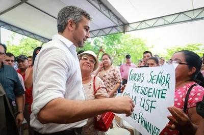 Abdo Benítez reitera que será senador vitalicio