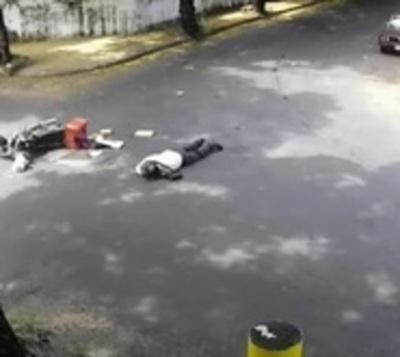Intentan identificar a conductor que causó accidente y huyó