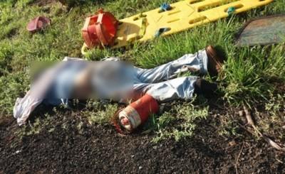 Vuelco de vehículo deja una víctima fatal y varios heridos
