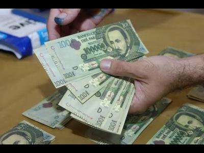 Advierten sobre circulación de billetes con una mitad original y la otra falsa