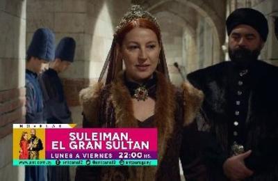 ¡No te pierdas el episodio de hoy de Suleiman, El Gran Sultán!