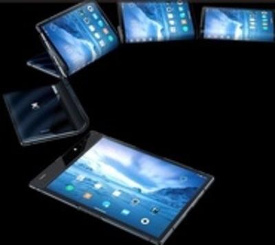 Sale al mercado el primer smartphone plegable