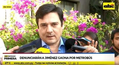 """Buzarquis dice que Jiménez Gaona estará """"deforestando el Chaco"""""""