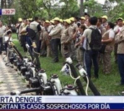Salud advierte que condiciones están dadas para epidemia de dengue