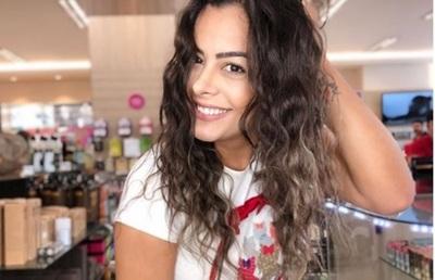Eco Internacional Del Debut De Larissa Riquelme Como Conductora De Tv