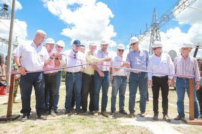 Inauguran subestación eléctrica en el Chaco