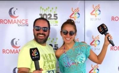 El verano se instaló en 'Los 40 FM 92.3'