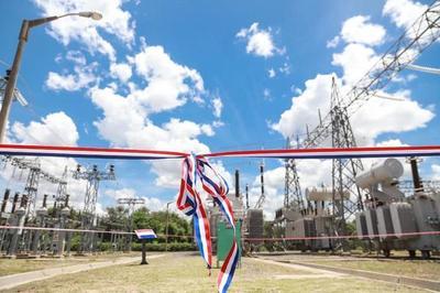 ANDE habilita subestación eléctrica en Loma Plata