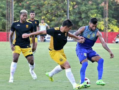 Guaraní igualó ante el Deportivo Capiatá en Dos Bocas
