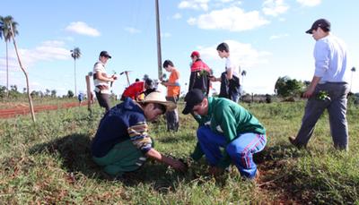 Promueven trabajos de reforestación en lugar de Servicio Militar Obligatorio