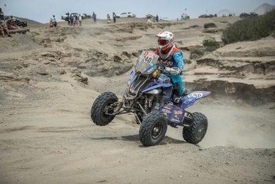 Argentina copa el podio del Dakar en quads