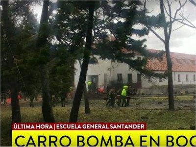 Al menos 5 muertos por explosión en escuela de la Policía de Bogotá