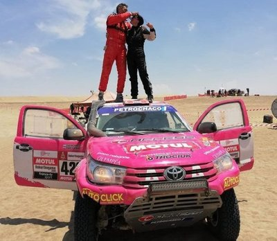 Lafarja vence al Dakar