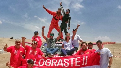 Paraguaya hace historia en Rally Dakar 2019