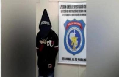 Detienen a presunto agresor en el Alto Paraná