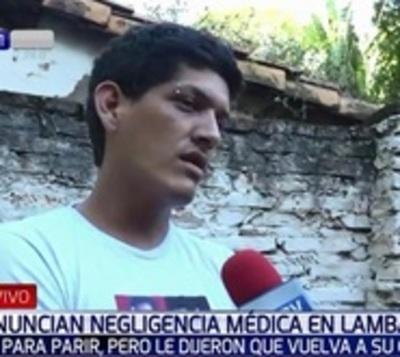 Denuncian que bebé falleció por supuesta negligencia médica en Lambaré