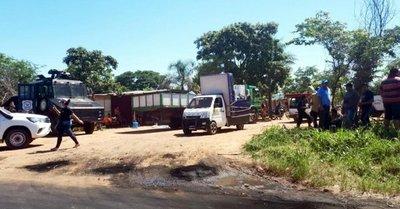 Desalojan a unas 100 familias de un inmueble de 45 hectáreas en Limpio