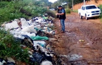 Multa por quemar basura va desde G. 81 millones