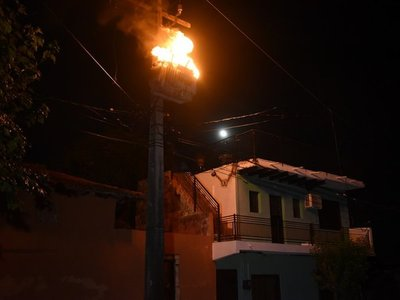 Ola de calor deja sin energía a 4.000 familias en Asunción y Central