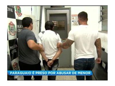 Detienen a paraguayo en Brasil por mantener a una niña como esclava sexual
