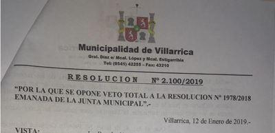 Intendente vetó resolución de la Junta y justifica suba de recolección de basura