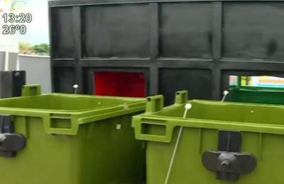 Inauguraron novedosos basureros subterráneos
