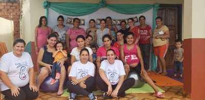 Realizan club de embarazadas en Presidente Franco