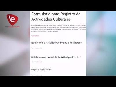 Implementan formulario digital para Registro de Actividades Culturales en Encarnación