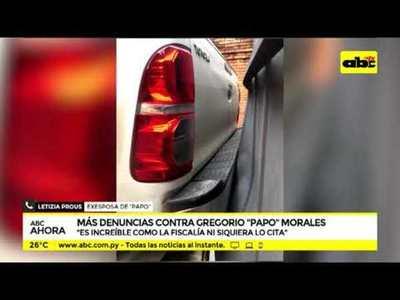 Mas denuncias contra Papo Morales