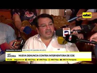 Nueva denuncia contra interventora de CDE