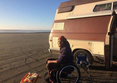Recorriendo el mundo en una silla de ruedas