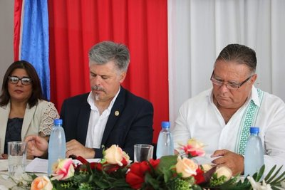 Firman convenio para prevenir y tratar adicciones en Caaguazú
